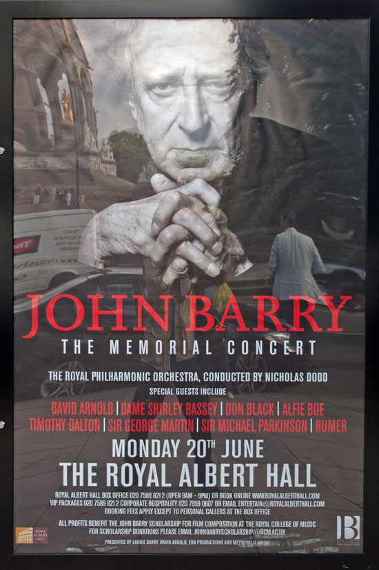 John Barry - Memorial Concert - Royal Albert Hall, June 20, 2011