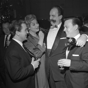 Matt Monro with ?, Ann Shelton, Johnnie Grey