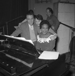 Matt Monro with with Winifred Atwell