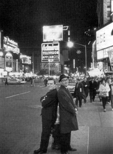Matt Monro & Don Black in New York