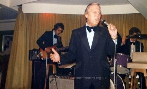 Matt Monro at the Watersplash, Jersey, June 1979
