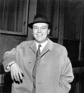 Matt Monro in hat