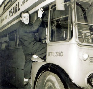 Matt Monro on bus
