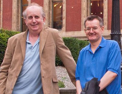 Geoff Leonard and Pete Walker