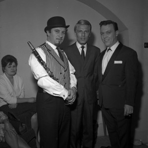 Acker Bilk, Adam Faith and Matt Monro