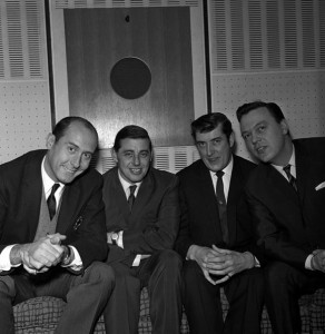 Henry Mancini, Henderson, Joe Meek and Matt Monro