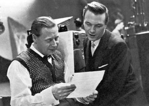 Matt Monro with with Cyril Stapleton